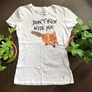Juicy Couture Don't Fox with Me t shirt